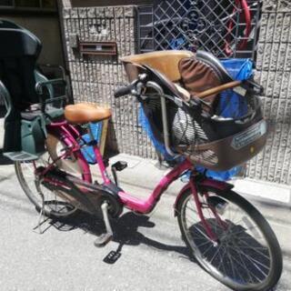 🌸パナソニックのギュット☆ 電動自転車 子供乗せ 3人乗りです...