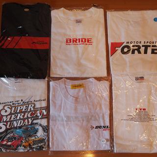 モータースポーツ Tシャツ 6枚 ② ADVAN BRIDE D...