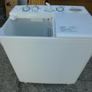 AQUA アクア 2槽式洗濯機 AQW-N45(W) 4.5kg...