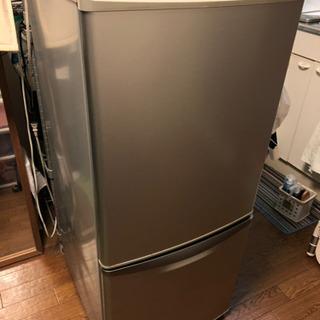 【取引決まりました】Nationalノンフロン冷凍冷蔵庫差し上げます