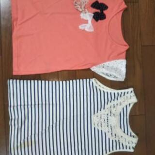 女の子用の服サイズ150まとめ売り。
