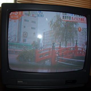 20型ブラウン管テレビ SANYO C-20D7  96年製