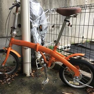 【ジャンク・条件付き】自転車/ la coccinelle/ラコ...