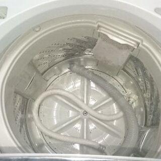 洗濯機 5k 送風乾燥 パナソニック NA-F50B2 ステンレス槽 ホース付き - 売ります・あげます