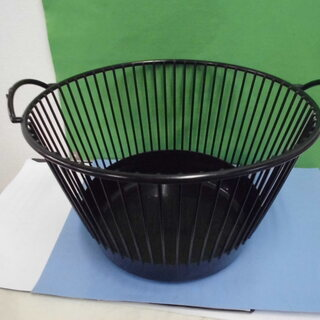 JM7353) 籠/バスケット ブラック 幅:約50.5cm 高...