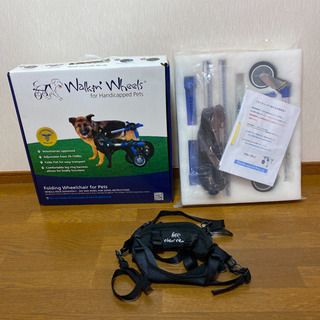 総額16万円以上 犬用車椅子 介護用品 Walkin Wheels