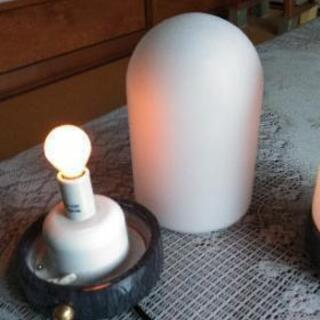 照明器具 2個セット 置型 − 奈良県