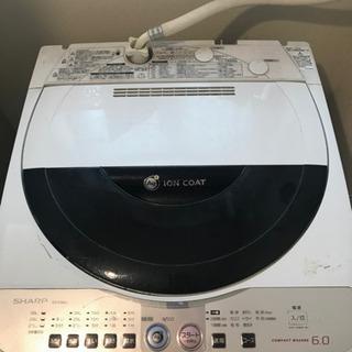 シャープ洗濯機6キロ(再投稿)