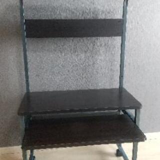 【省スペース】パソコンラック【座椅子に最適!】