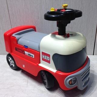 値下げ■1831■トミカ サーキットトレーラー 乗用玩具 ide...