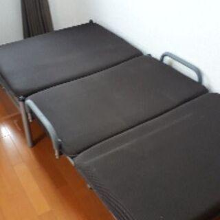 折り畳み式ソファーベッド&マット&マットレス付き