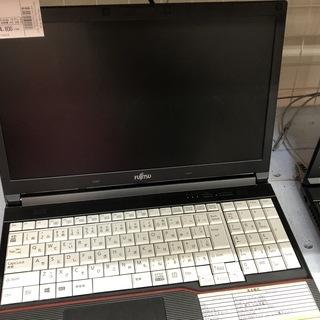 ノートパソコン 富士通 Windows10 Pro FMVA10...