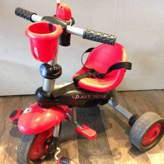 ■1427■三輪車 SMART TRIKE 赤 乗用玩具 赤ちゃ...