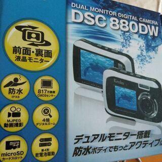 防水自撮デジタルカメラ - 売ります・あげます