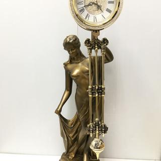 未使用品! 女神の振り子置き時計