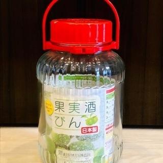 東洋佐々木ガラス瓶 果実酒瓶5L(梅酒ビン)新品