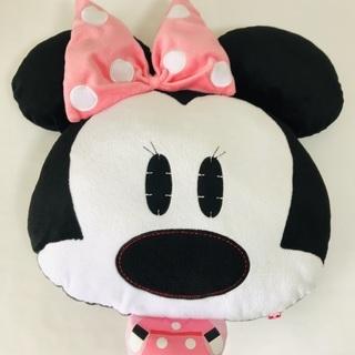 【ミニーマウス】非売品/クッション/52×46×12㎝/中古/手...