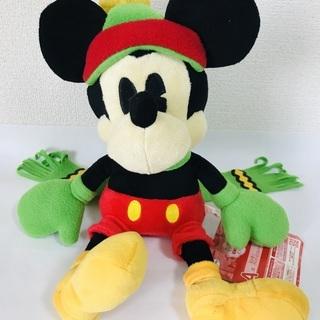 【ミッキーマウス】非売品/ぬいぐるみ/26㎝/中古/バンプレスト...