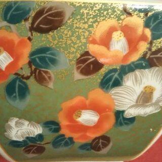 櫻妃窯  椿と紅葉🍁 深皿と浅皿セット
