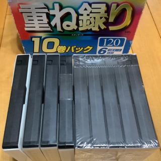 【新品未使用】ビデオテープ 9本