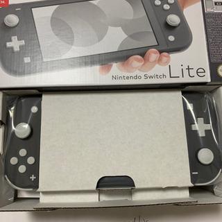 【新品】Nintendo Switch ライト グレー