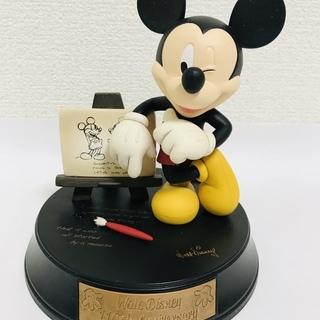 【ミッキーマウス】非売品/フィギュア/16㎝/中古美品/ウォルト...
