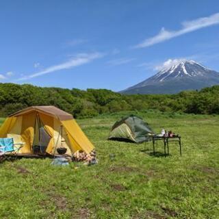 キャンプ場オープンしました