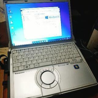 東芝 Windows10 高性能軽量モバイルノートパソコン すぐ...