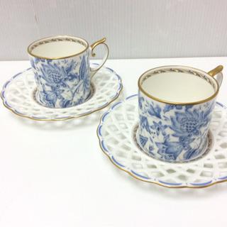 NARUMI/ナルミ お洒落なコーヒーカップ 2客セット