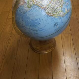 ハードウッド 地球儀