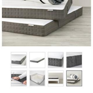 IKEA マットレス モルゲダール セミダブル