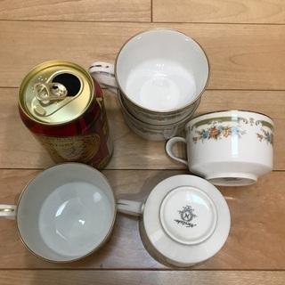 113、花柄紅茶カップ  Noritake  5個 - 岡山市