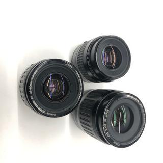 【ジャンク品】フィルム一眼レフカメラ EOS Kiss + レン...