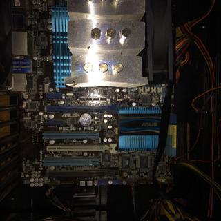 i7 2600K マザボ 電源 DVDドライブ ケースantec