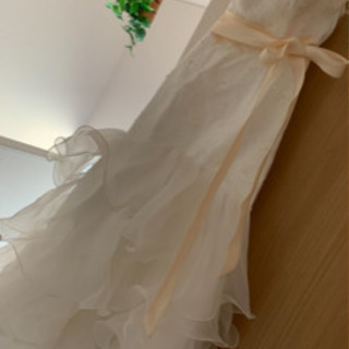 ウェディングドレス マーメイド フリル