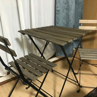 IKEA 屋外用テーブル 譲る方決まりました