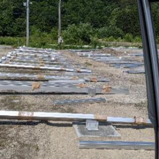(7/4更新) 低圧太陽光発電所の構築作業