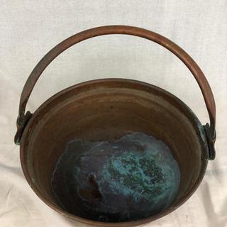銅なべ 銅ナベ 直径34cm 高さ14.5cm あくぬき アク抜...