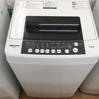 「安心の6ヶ月保証付!Hisense(ハイセンス)全自動洗濯機売...