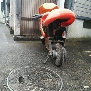 電動ミニバイク?の画像