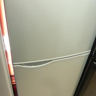 西岡店 冷蔵庫 118L 2017年製 2ドア シャープ SHA...