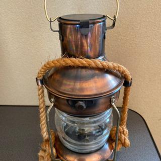 オイルランプ 銅製