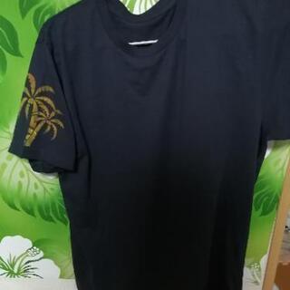 ステンシルHawaiianTシャツ