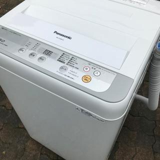 パナソニック 洗濯機 2017年 5キロ 美品!