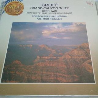 グローフェ 組曲:大峡谷/ラプソディ・イン・ブルー ボストン・ポ...