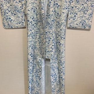 新品未使用 白地で涼しそう 着物女性用