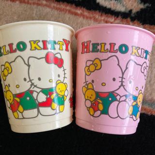 Hello Kitty プラカップペア