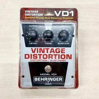 BEHRINGER VINTAGE DISTORTION VD1