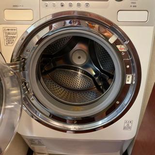 無料出品① ドラム式洗濯乾燥機(東芝)