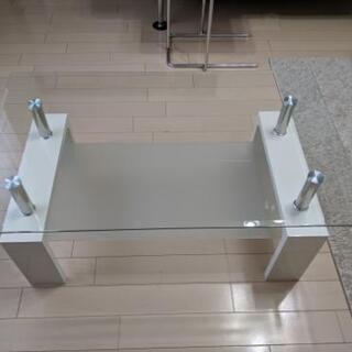 リビング ガラステーブル